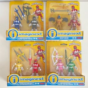 Power Rangers Imaginext Lot